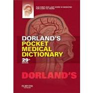 Dorland's Pocket Medical Dictionary (Book with CD-ROM + Access Code) by Dorland, 9781455708437