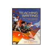 Teaching Writing : Balancing Process and Product by Gail E. Tompkins, 9780024208439