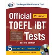 Official TOEFL iBT® Tests Volume 1, 2nd Edition by Unknown, 9780071848442