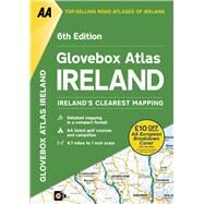 Glovebox Atlas Ireland by Automobile Association (Great Britain), 9780749578442