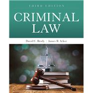Criminal Law by Brody, David C.; Acker, James R., 9781449698447