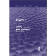 Empathy I (Psychology Revivals) by Lichtenberg; Joseph D., 9780415718455