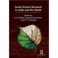 Social Science Research in India and the World by Mishra,R. K., 9781138898455