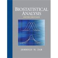 Biostatistical Analysis by Zar, Jerrold H., 9780131008465