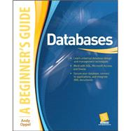Databases A Beginner's Guide by Oppel, Andy, 9780071608466