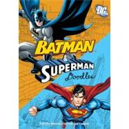 Superman/Batman Doodle Flipbook: Fearless Pictures to Complete and Create by Running Press, 9780762448470