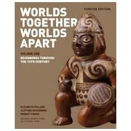 Worlds Together, Worlds Apart: Beginnings Through the 15th Century CONCISE - VOLUME 1 by Pollard, Elizabeth; Rosenberg, Clifford; Tignor, Robert; Adelman, Jeremy (CON); Aron, Stephen (CON), 9780393918472