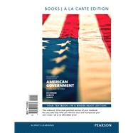 American Government, 2014 Election Edition, Books a la Carte Edition Plus REVEL -- Access Card Package by O'Connor, Karen J.; Sabato, Larry J.; Yanus, Alixandra B., 9780134138473