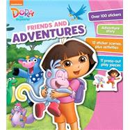Nickelodeon Dora the Explorer Friendship Activity Folder by Parragon, 9781472378477