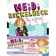 Heidi Heckelbeck: Heidi Heckelbeck Has a Secret / Heidi Heckelbeck Casts a Spell / Heidi Heckelbeck and the Cookie Contest by Coven, Wanda; Burris, Priscilla, 9781481428477