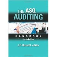 The ASQ Auditing Handbook by Russell, J. P., 9780873898478