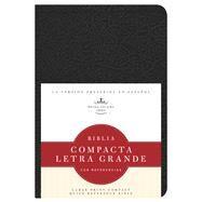 RVR 1960 Biblia Compacta Letra Grande con Referencias, negro imitación piel by Unknown, 9781586408480