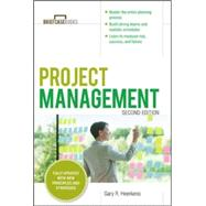 Project Management, Second Edition (Briefcase Books Series) by Heerkens, Gary R., 9780071818483