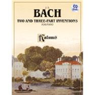 Two- and Three-part Inventions by Bach, Johann Sebastian (COP); Bischoff, Hans, 9780739098486