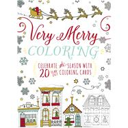 Very Merry Coloring by Adams Media, 9781440598487