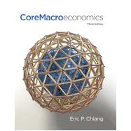 CoreMacroeconomics by Chiang, Eric, 9781429278492