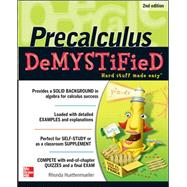 Pre-calculus Demystified, Second Edition by Huettenmueller, Rhonda, 9780071778497