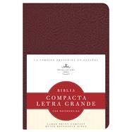 RVR 1960 Biblia Compacta Letra Grande con Referencias, borgoña imitación piel by Unknown, 9781586408497