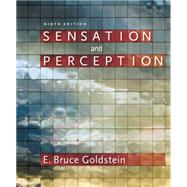 Sensation and Perception (with CourseMate Printed Access Card) by Goldstein, E. Bruce, 9781133958499