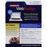 Enhanced WebAssign Single-Term LOE Printed Access Card for Math & Sciences , 1st Edition by WebAssign, 9781285858500