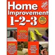 Home Improvement 1-2-3 (Home Depot 1-2-3) by Unknown, 9780696238505