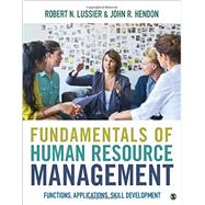 Fundamentals of Human Resource Management by Lussier, Robert N.; Hendon, John R., 9781483358505