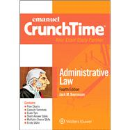 Emanuel CrunchTime for Administrative Law by Beerman, Jack M., 9781454868507