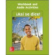Asi se dice! Level 3, Workbook and Audio Activities by Schmitt, Conrad, 9780076668519