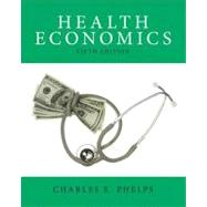 Health Economics by Phelps; Charles, 9780132948531