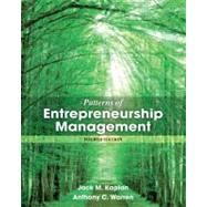 Patterns of Entrepreneurship Management by Kaplan, Jack M.; Warren, Anthony C., 9781118358535