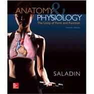 Anatomy & Physiology: The Unity of Form and Function by Saladin, Kenneth, 9781259448539