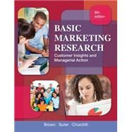 Basic Marketing Research (with Qualtrics Printed Access Card) by Churchill; Brown; Suter, 9781133188544