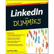 LinkedIn For Dummies by Elad, Joel, 9780470948545
