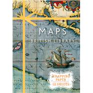 Maps from the British Library: Wrapping Paper Book by British Library, 9781910258552