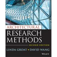 Architectural Research Methods by Groat, 9780470908556