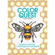 Color Quest Adult Coloring Book by Webster, Joanna, 9781438008561