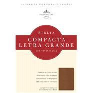 RVR 1960 Biblia Compacta Letra Grande con Referencias, topacio cobrizo simulación piel by Unknown, 9781586408565