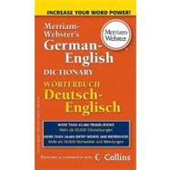 Merriam-webster's German-english Dictionary by Merriam-Webster, 9780877798576