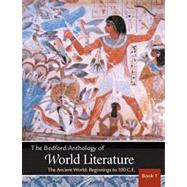 Bedford Anthology of World Literature Volumes 1 & 2 & 3: Pack A by Davis; Harrison; Johnson, 9780312678579