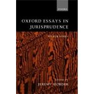 Oxford Essays in Jurisprudence Fourth Series by Horder, Jeremy, 9780198268581