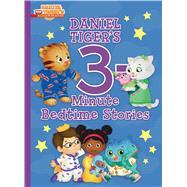 Daniel Tiger's 3-minute Bedtime Stories by Simon & Schuster Children's Publishing; Fruchter, Jason, 9781534428591