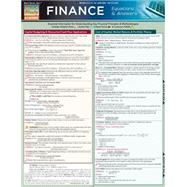 Finance Equations and Answers by BarCharts Inc, 9781423208594