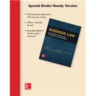 Loose-Leaf for Business Law by Mallor, Jane; Barnes, A. James; Bowers, L. Thomas; Langvardt, Arlen, 9781259408595