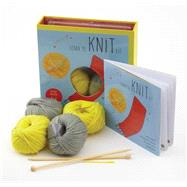 Learn to Knit Kit by Hammett, Carri, 9781589238596