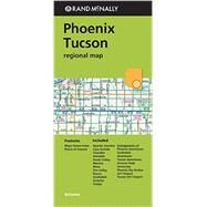 Rand McNally Regional Map Pheonix/Tuscon, Arizona by Rand McNally and Company, 9780528008597