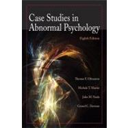 Case Studies in Abnormal Psychology, 8th Edition by Thomas F. Oltmanns (University of Virginia); Michele T. Martin (Wesleyan College); John M. Neale (State University of New York at Stonybrook); Gerald C. Davison (University of Southern California, Los Angeles), 9780470408599