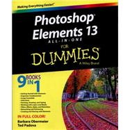 Photoshop Elements 13 All-in-one for Dummies by Obermeier, Barbara; Padova, Ted, 9781118998601