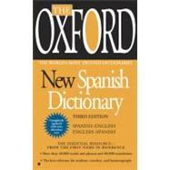 The Oxford New Spanish Dictionary Third Edition by Unknown, 9780425228609