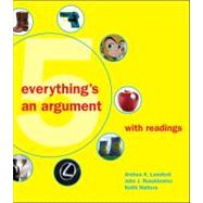 Everything's an Argument with Readings by Lunsford, Andrea A.; Ruszkiewicz, John J.; Walters, Keith, 9780312538613