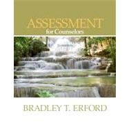 Assessment for Counselors by Erford, Bradley, 9780840028617